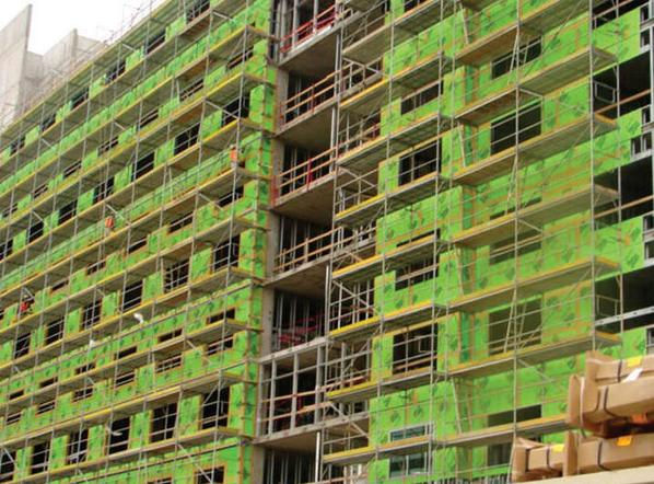 Securock on for Green board exterior sheathing
