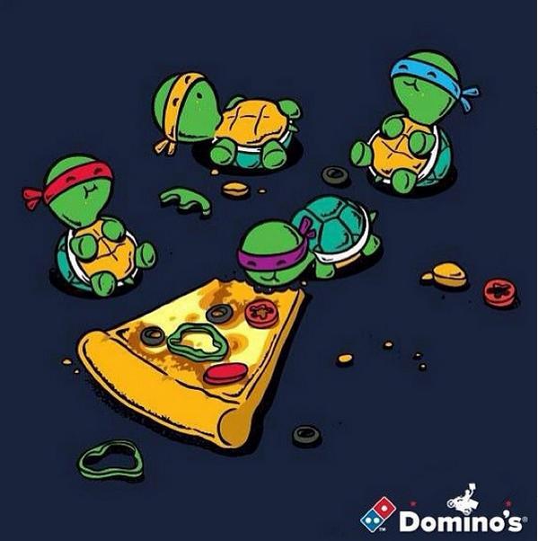 dominos france on twitter jaitoujoursvoulu tre une tortue ninja pour manger des pizzas toute la journe httptco9xqftpocjy