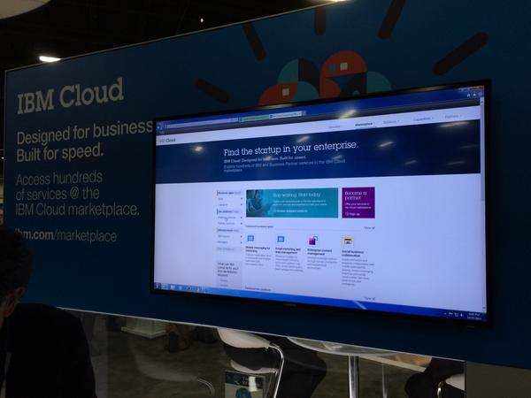 Apps built on #bluemix will be included in the marketplace. #IBMinsght http://t.co/yxwAddEncb