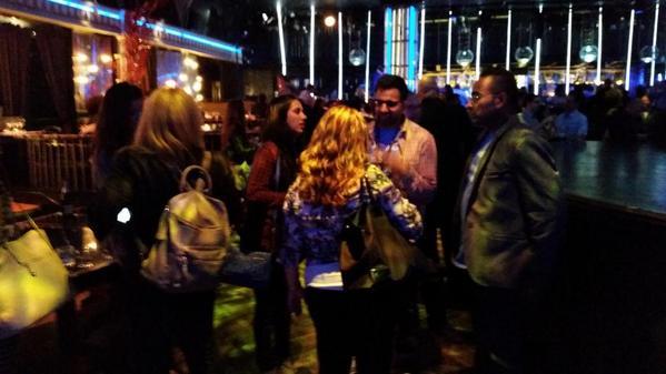 Amazing #BizBashNY pre-party as planners mingle at Diamond Horseshoe. #eventplanning #eventprofs http://t.co/F4B7IkicZI