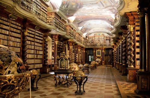 """Beautiful! """"@BookTemplates: Clementinum National Library in Prague, Czech Republic Found at http://t.co/H8PPDklN1e http://t.co/tOHXRm22Do"""""""