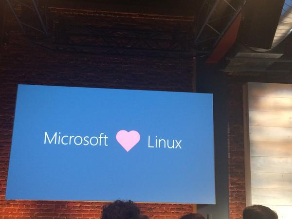 "I think hell just froze over.  ""@melsmo: Microsoft loves Linux […] http://t.co/Cw0vvoG3j5"" (via @justincormack )"