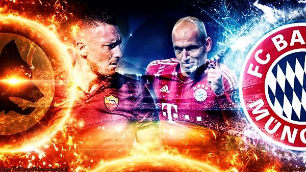 Risultato ROMA BAYERN MONACO in DIRETTA Live Video Gol in temporeale Champions League