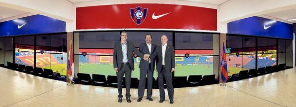 Nike vestirá a Cerro desde el año que viene http://t.co/5rqUGbfQe2 http://t.co/iboARqeOsc
