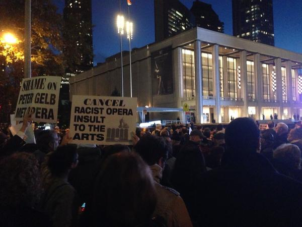 Thumbnail for Zionist Fanatics Protest an Opera