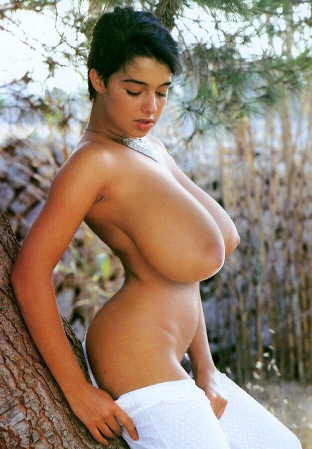 Young first time busty nude
