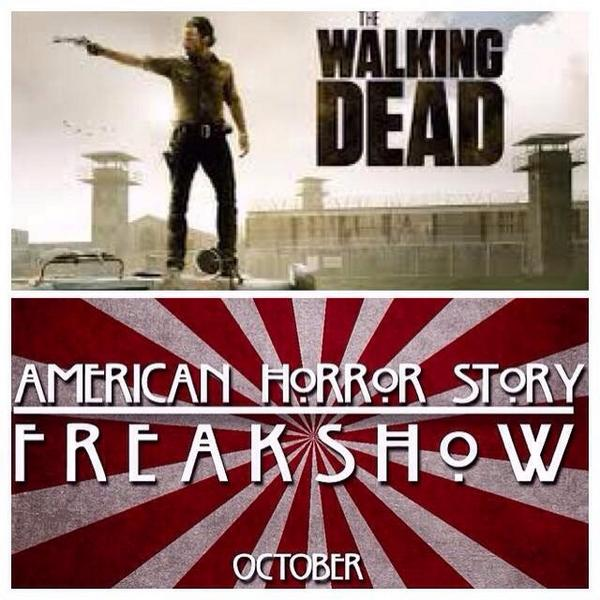 So much to do and I Still need to catch up on both of my shows @AHSFX @TheWalkingDead http://t.co/2Kddeqb51w