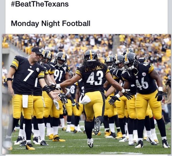 STEELERS! http://t.co/zvSdAoN3Up