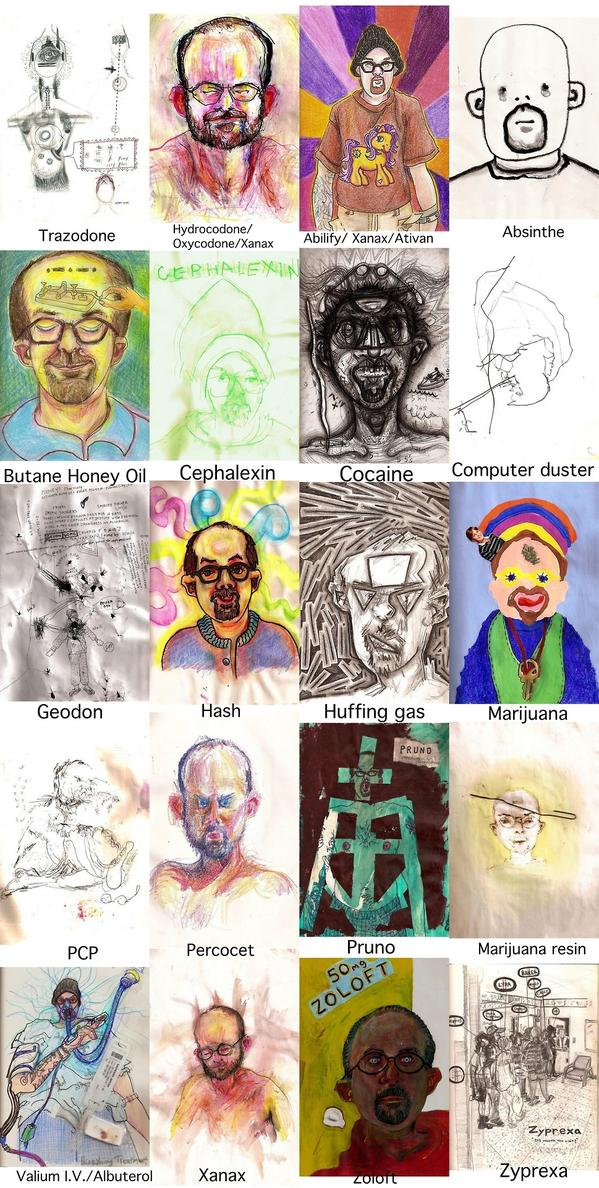 Painted Portrait Artists Artist Did Self Portraits