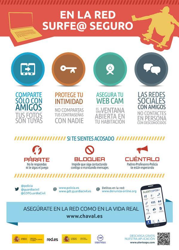 Red.es trabaja junto a @interiorgob @policia @guardiacivil @GDTGuardiaCivil x la seguridad de los #menores en la red http://t.co/97joVNbyPN