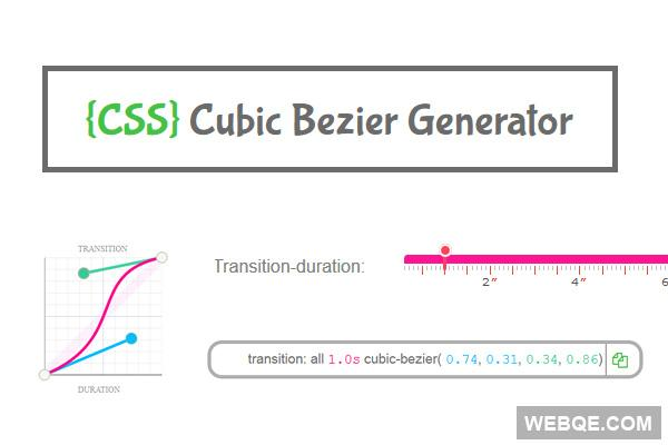 cubicbezier hashtag on Twitter