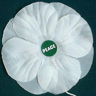 Image result for white poppy appeal logo