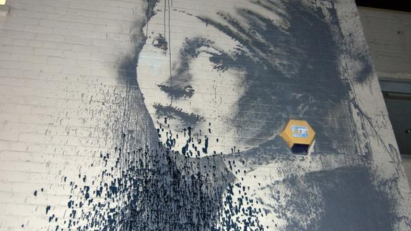 New Bristol Banksy is defaced | West Country - ITV News