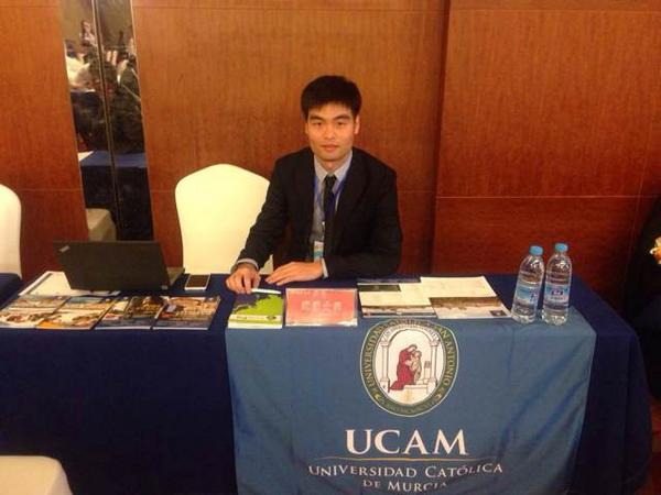 UCAM China team have just got back from ICEF workshop and Shenyang Education Fair #ICEF #Asia http://t.co/lD0diXTvrx