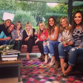 A brilliant day with these girls yesterday! Xx http://t.co/5PGLciMVuN