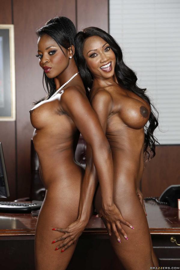 Busty girls strip