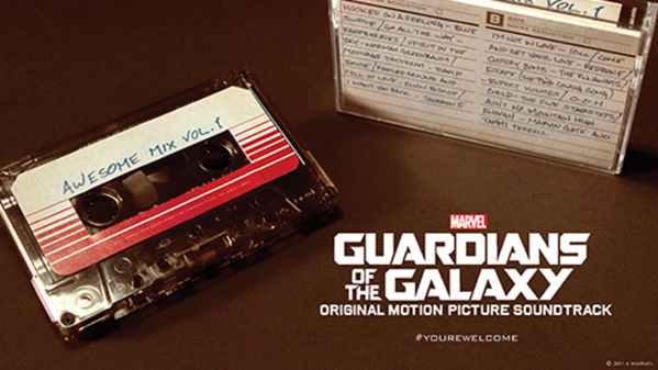 That 'awesome' mixtape from @Marvel's Guardians of the Galaxy is coming out on cassette #GotG http://t.co/7fpfdfyPtS http://t.co/FkWJ69KkxS