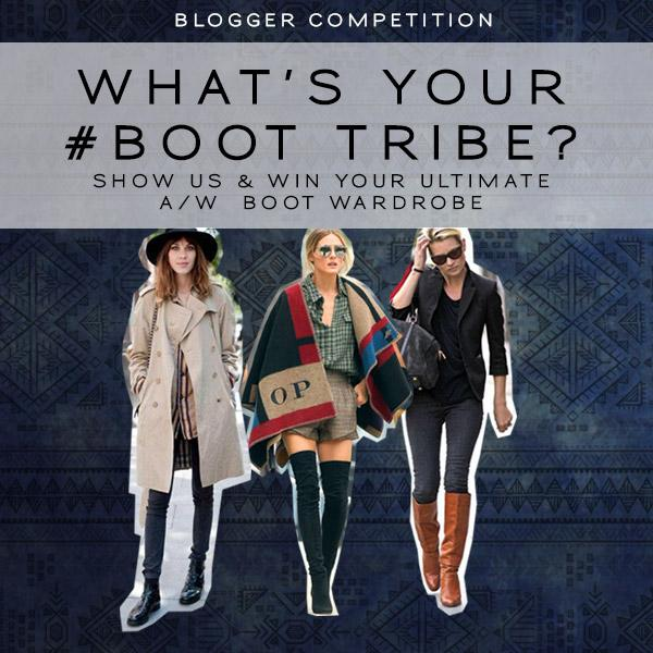 Blogger competition: What's your #boottribe? Your chance to win your A/W shoe/boot wardrobe!  http://t.co/Uhpt7eSFkI http://t.co/uEKZ0KFfFW
