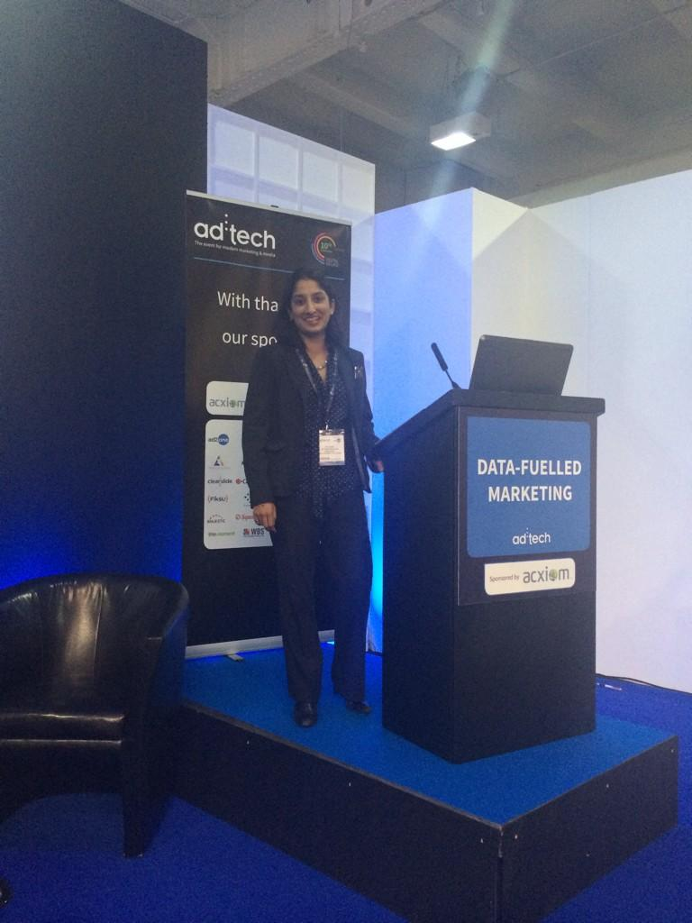 .@PhotosByTeaknee up next @adtech_london talking about from real-time to real-life marketing #adtech_london http://t.co/byYhHkqWqc