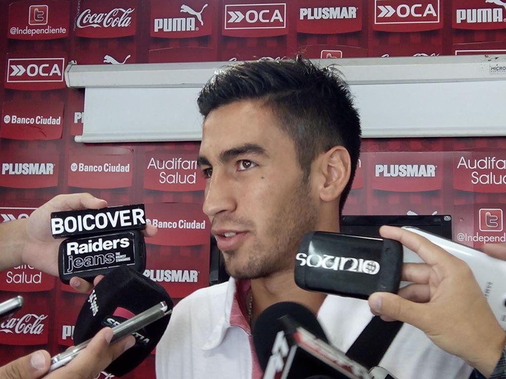 """Lucero: """"Me estoy adaptando al Club"""""""