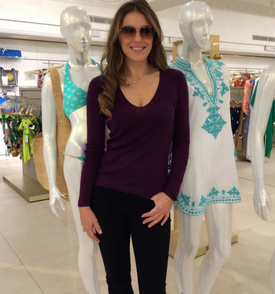 .@Harrods thank you to the lovely staff in the swim department. Elizabeth Hurley Beach looking great! http://t.co/r3KGUL5jRq