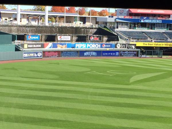 Here you go @glezak ...a field worthy of the World Series. http://t.co/njRj3YgoQr
