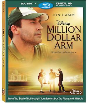 .@DisneyPictures #MillionDollarArm   Blu-ray™ + Digital HD #Giveaway Enter 2 #WIN http://t.co/pnGNWSpAnp http://t.co/Dx1QOb6etB