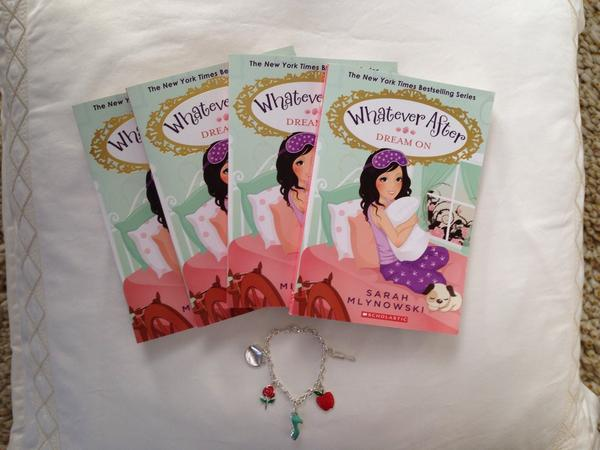 The paperback of DREAM ON is here! Retweet for a chance to win a signed copy plus a #whateverafter charm bracelet. http://t.co/ffOafiJZTA