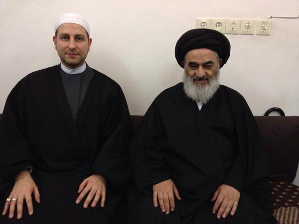 Image result for sadiq shirazi with ayatullah
