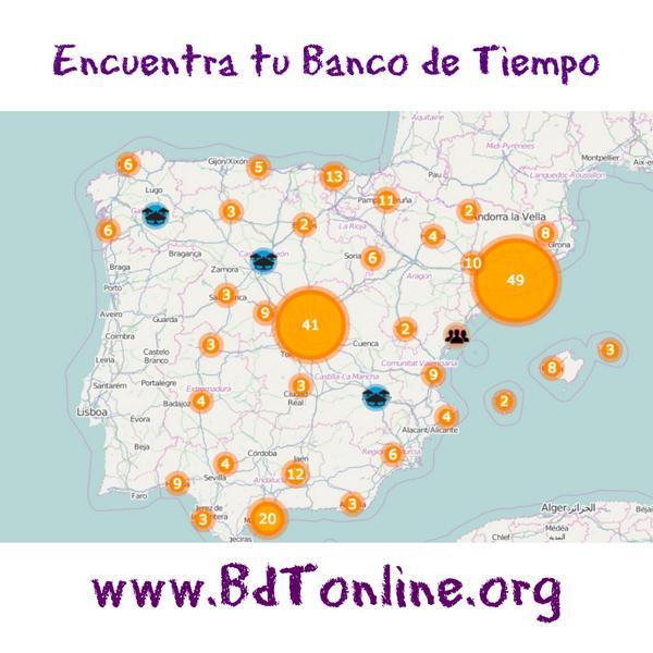 Thumbnail for Mapa de Bancos de Tiempo