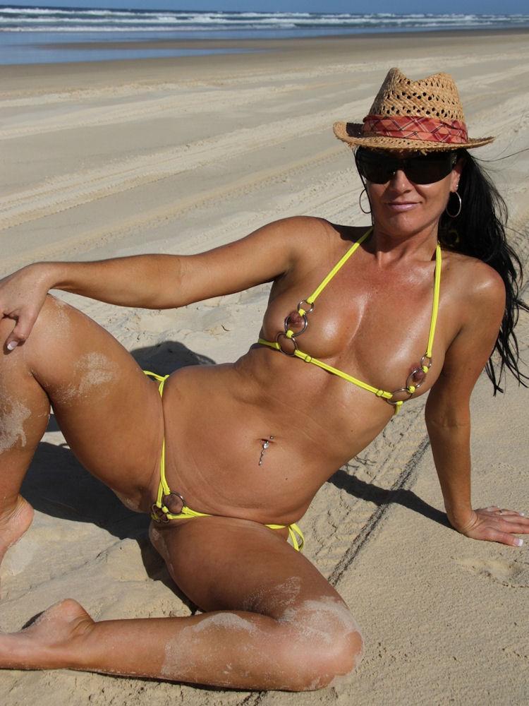 aussie bikini see through