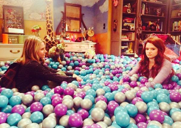 I wrote tonights ep of #FakingIt and it may contain a dangerous amount of the feelings. And balls. So many balls. http://t.co/T22JfYS9ue