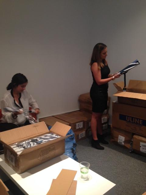 Quality checking gifts to make sure they are perfect for events! #umbrellas #ACEIT @FirstProtocol #DayInTheLife http://t.co/ceJaYUINgy