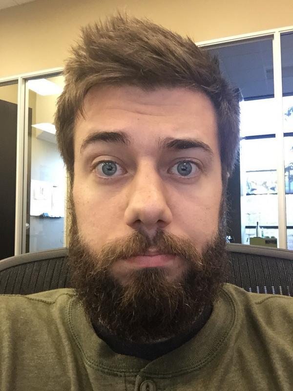 "Jerome Aceti [NICE] on Twitter: ""Beard off? @jDantastic"""