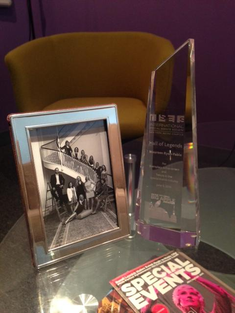 CEO, Maureen Ryan-Fable inducted into @isesnyc Hall of Legends! @FirstProtocol #proud #DayInTheLife http://t.co/hZolXJBVOu