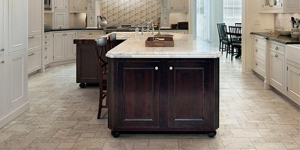 The Home Depot On Twitter Turn Your Kitchen Floor Into A Masterpiece With Natural Stone Look Of Travisano Http T Co Pskajj0pkn