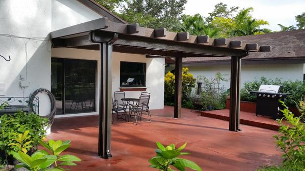 Exceptional New Aluminum Patio Cover Approved In Miami Dade Area, Ready For Shipping  And Installation In Miami And Florida Keyspic.twitter.com/fN8PvXPqrI