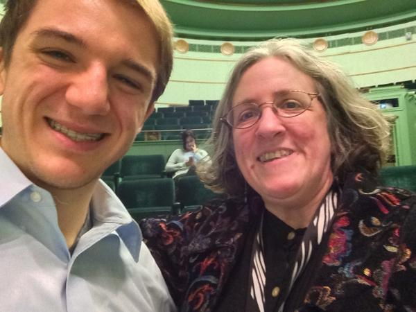 Me and @jackandraka #selfie #oaweek14 (@ Rackham Graduate School in Ann Arbor, MI) http://t.co/ezcjAq7Fkh http://t.co/8rYv4HRZOi