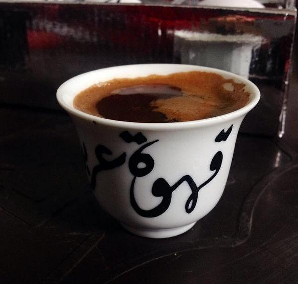 خواطر اشعار القهوه الساخنة