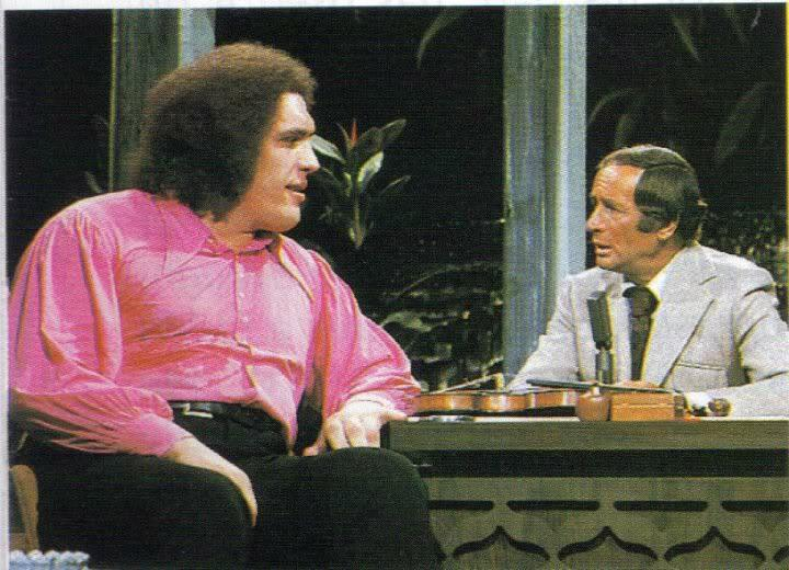 Andre the Giant on the Tonight Show (1974)