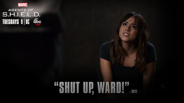 You tell him, Skye! #AgentsofSHIELD http://t.co/4LtR5eihrY