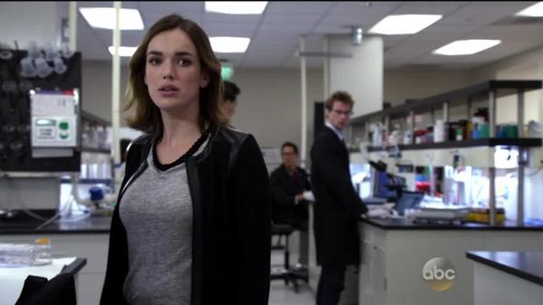 Do you ever get the feeling that everyone in the office was just talking about you? #AgentsofSHIELD http://t.co/mGsQytRyTl