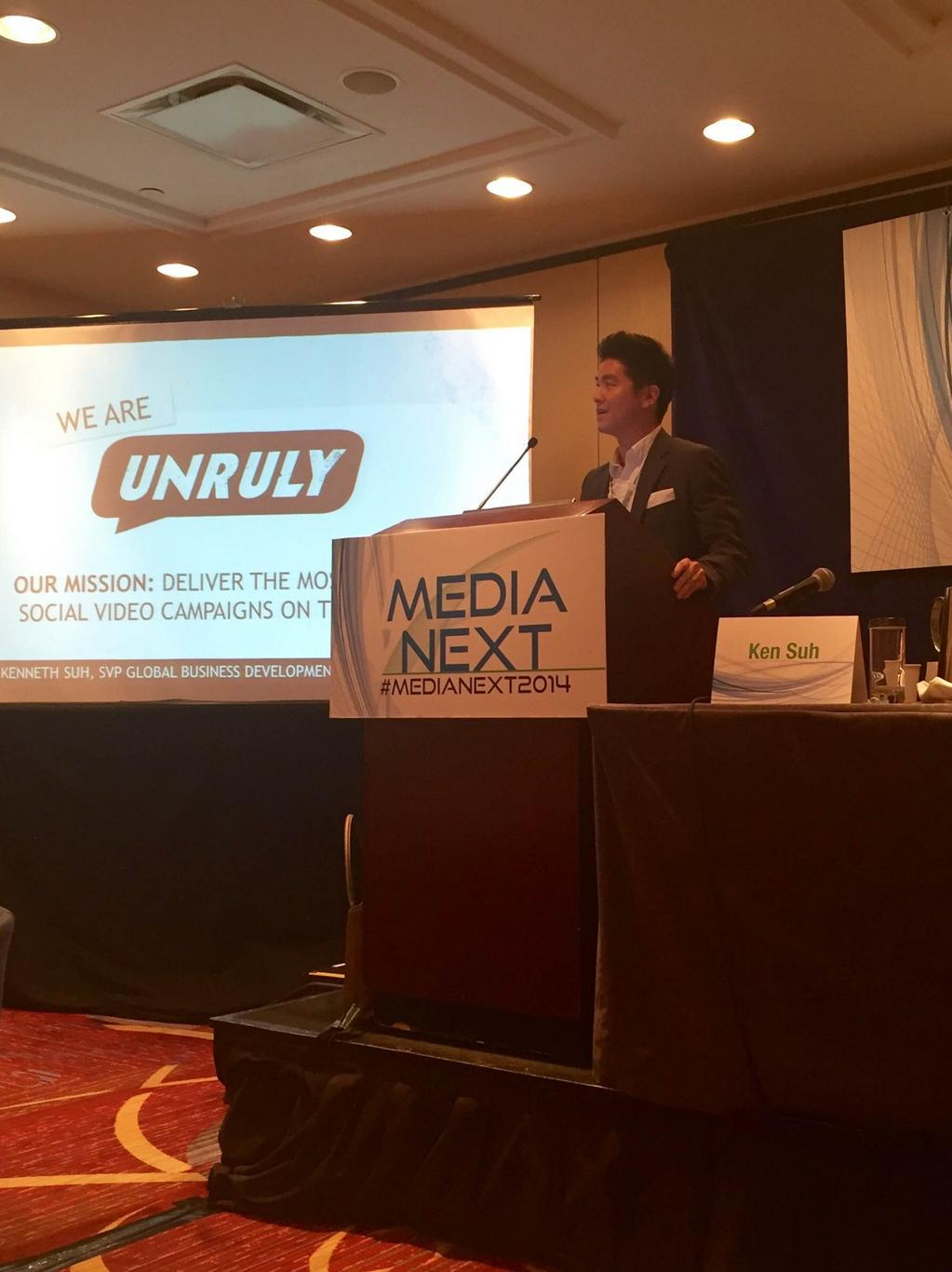 """""""It's harder than ever to get attention on social"""" @kenneth_suh explains what you can do about it at #MediaNext2014 http://t.co/el40TaqspX"""
