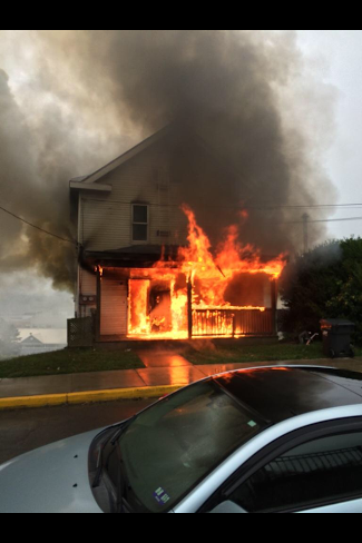 My house burnt down but we're ok! You can help here: http://t.co/WfLFpbpWPP http://t.co/3VyNQrfRGd