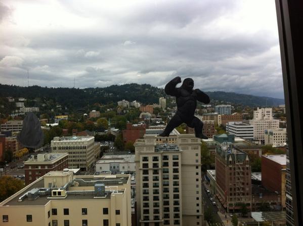 That time when Portland got even weirder. #heweb14 http://t.co/8SBNwvS0Td