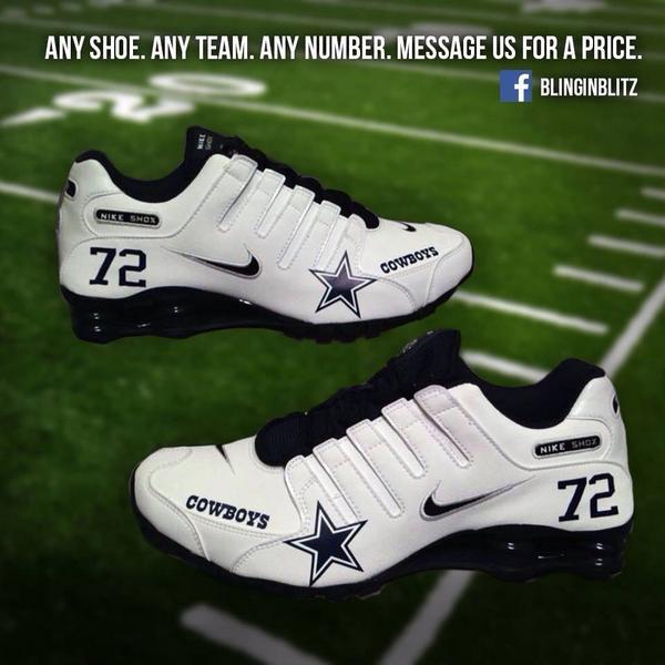 773c0b775e5aeb dallas cowboys nike shox shoes