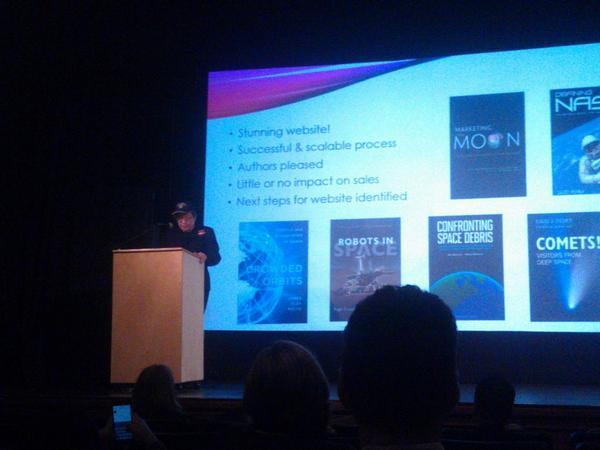 .@mitpress director Ellen Faran on University Presses in Space #nepco2014 http://t.co/wgmJSvcrxz