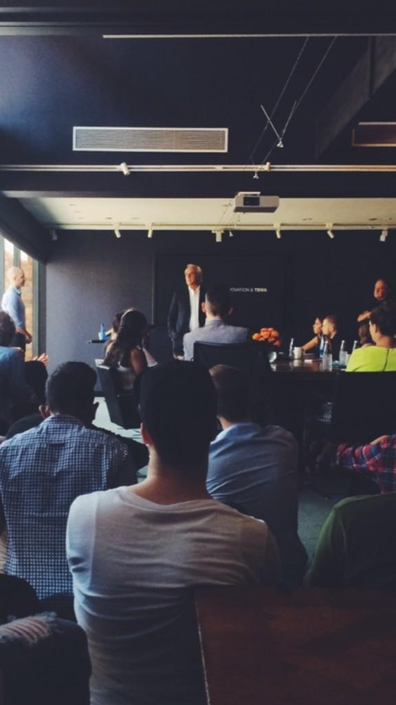 RT @WTBWAGroupMelb: The man, the legend. Jean-Marie Dru talking to us about Disruption, Innovation, and @TBWA. http://t.co/QQwSGf3ZDr