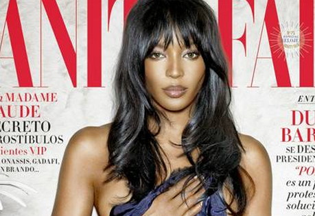 #NaomiCampbell presses a sheet to her bare bosom for #VanityFair Spain! http://t.co/D6oHzXR6bG http://t.co/LTKH8O1SwN