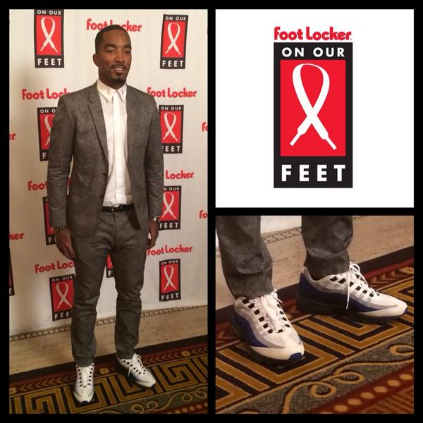 Foot Locker On Twitter Knicks Guard Therealjrsmith Came In Rocking Some Classic Air Max 95 S At Our Onourfeet Gala Approved Http T Co 3xpolvfwbc